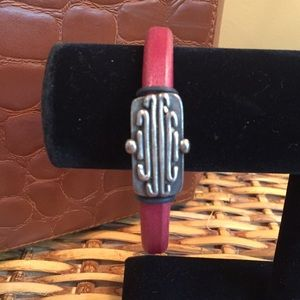 Jewelry - Leather Magnetic Bracelet